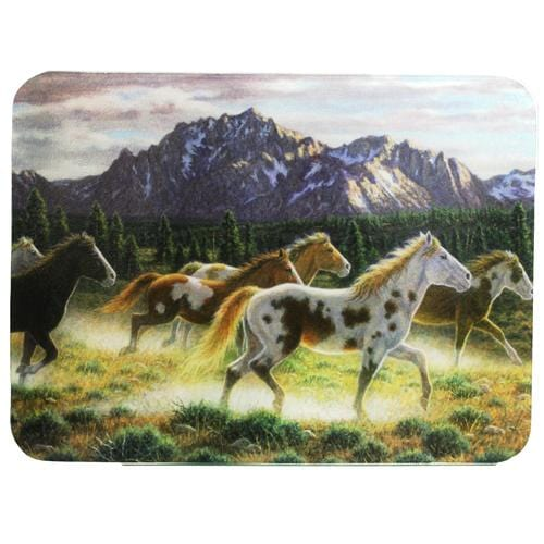 Rivers Edge Products Horse Cutting Board- In Mountains