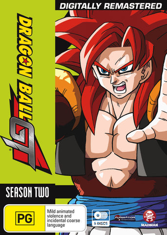 Dragon Ball GT: Complete Season 02 and Movie - Remastered and Uncut