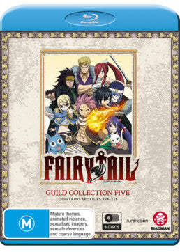 Fairy Tail: Guild Collection 5 (Episodes 176-226)