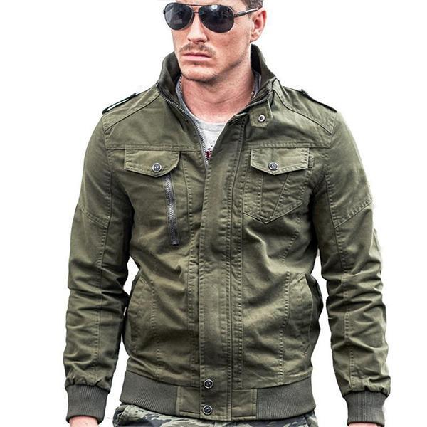 Cotton Plus Size Outdoor Casual Military Jacket