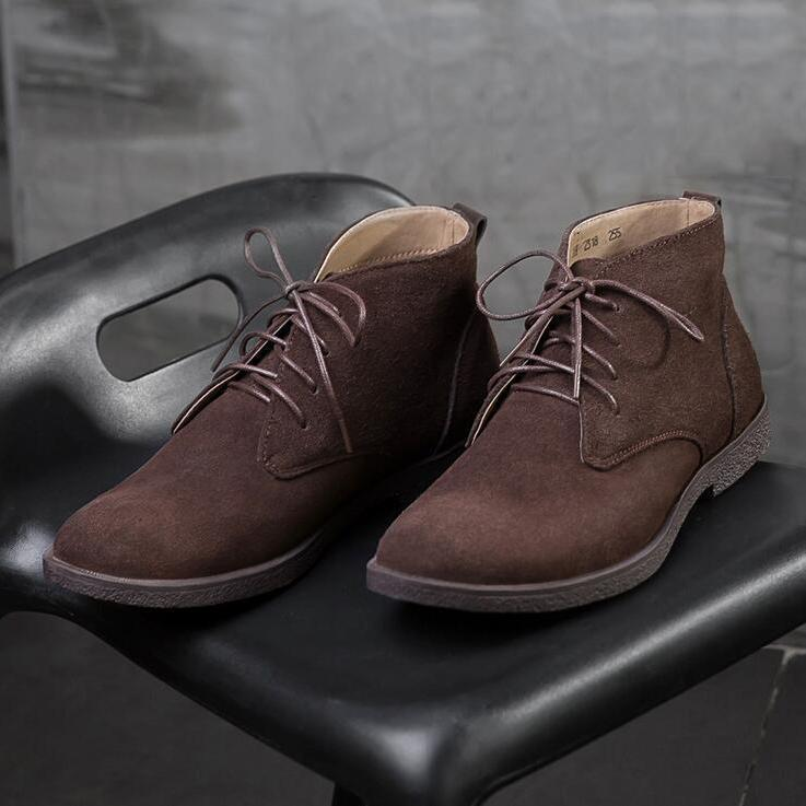 Handmade Suede Casual Boots