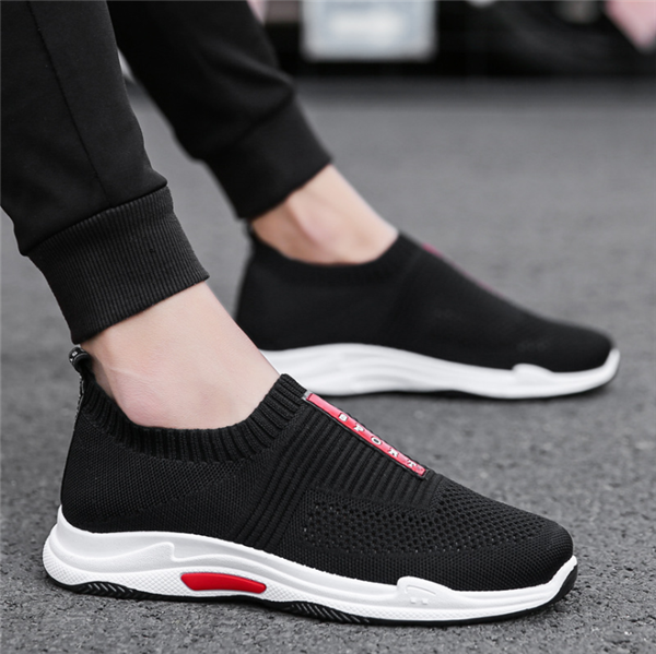 Men Mesh Breathable Light Running Casual Shoes