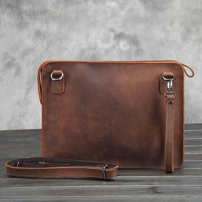 Men's Business Leather Retro Bags