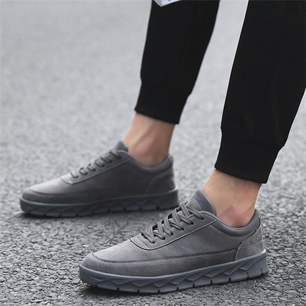 Men Shoes Fashion PU Outdoor Casual Sport Sneakers
