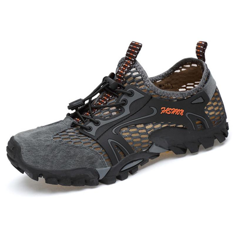 Men Outdoors Breathable Antiskid Climbing Hiking River Tracking Fast Drying Shoes