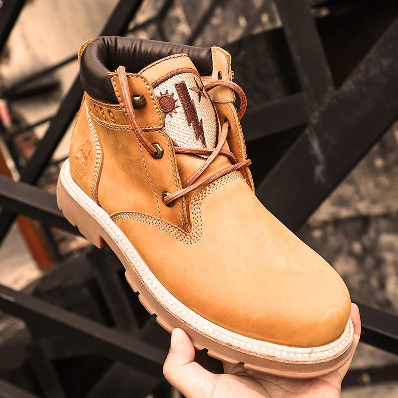 Large Size Outdoor Casual Ankle Boots