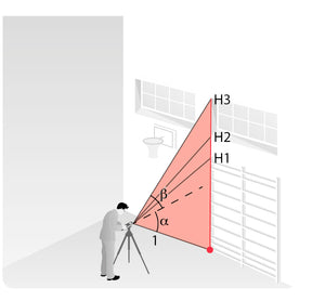 Height tracking with Disto X4 and DST 360