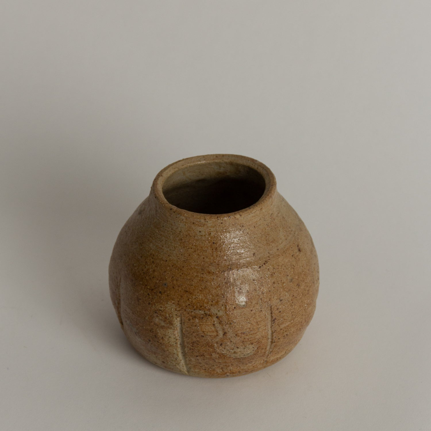 Pebbled Ceramic Vase