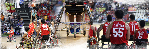 STAYHOOPS X TIMNAS WHEELCHAIR BASKETBALL