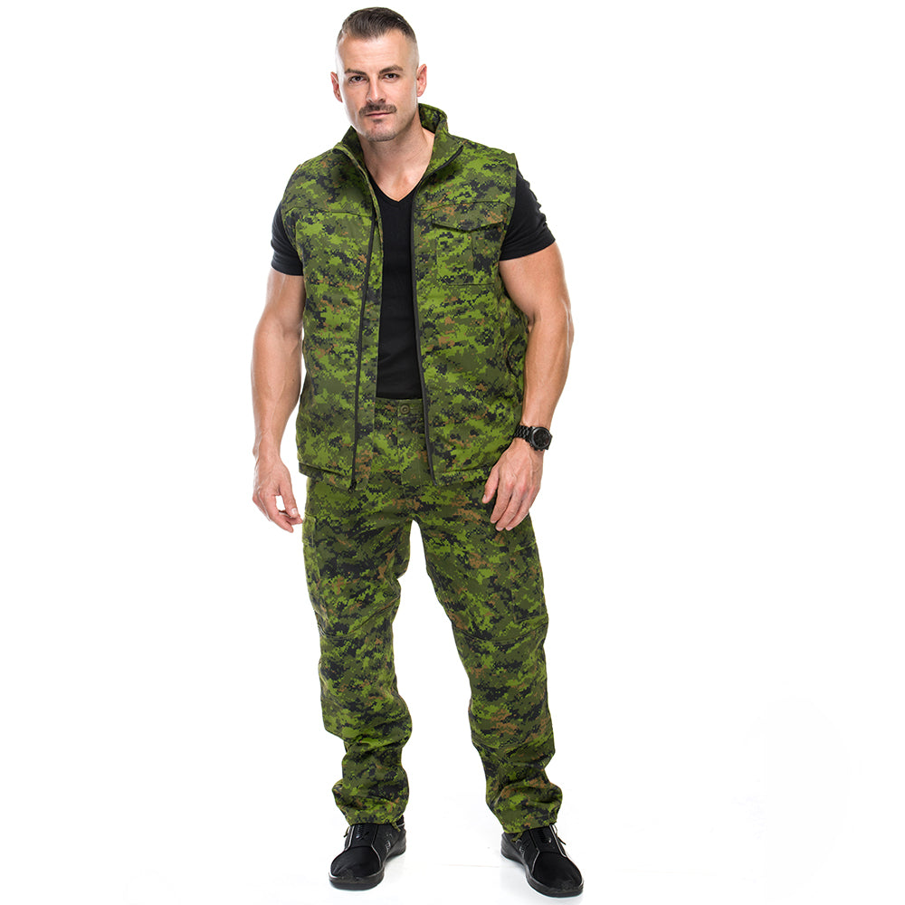 Men's Insulated Vest Digi Camo