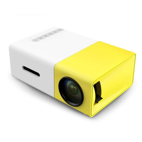 Image of 1080P Mini Portable HD LCD Projector
