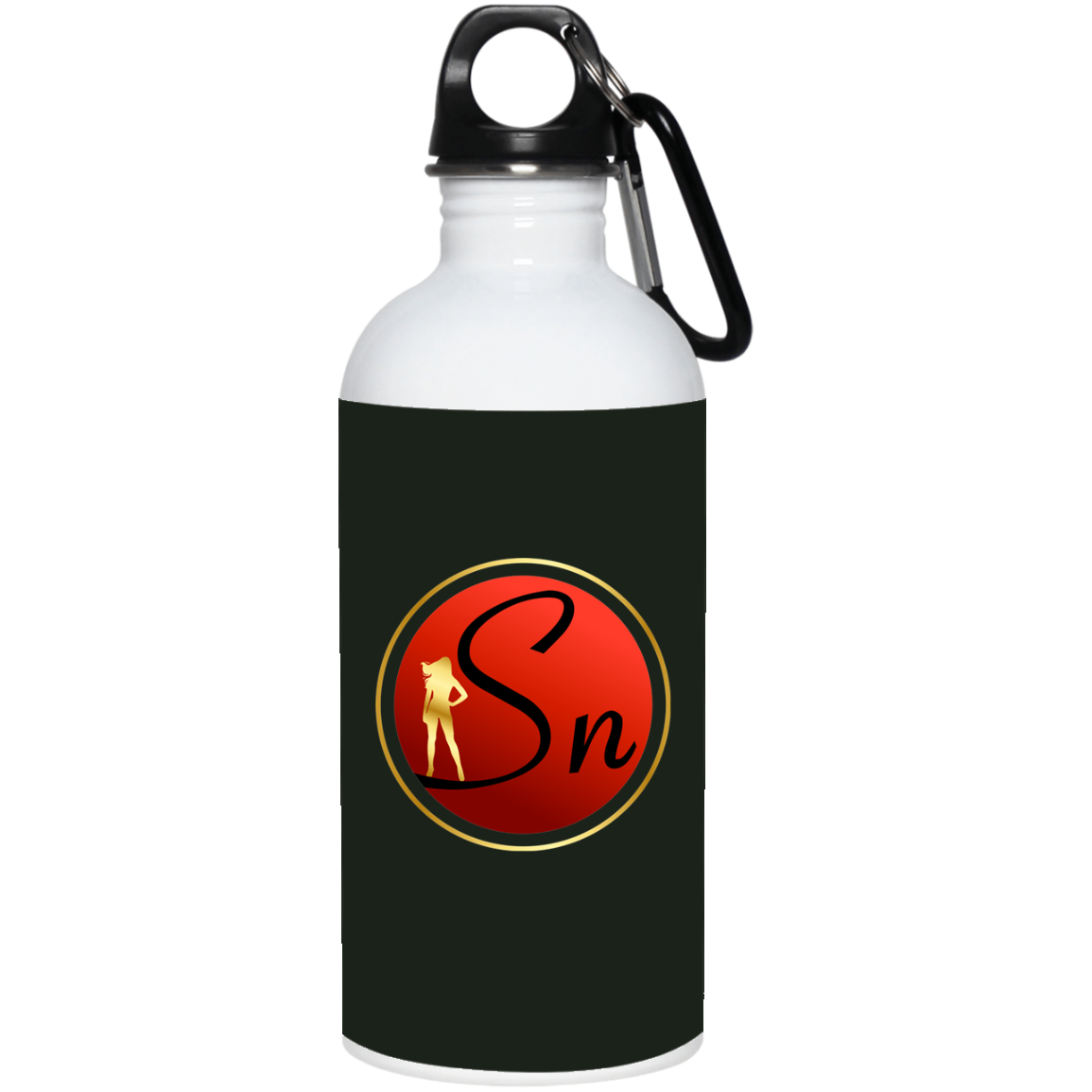 Saucy Nation Stainless Steel Water Bottle