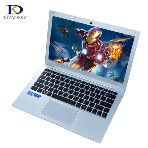 "Hot Promotion 13.3"" laptop computer i7 7500U dual core win 10 netbook webcam HDMI SD Type-c Backlit Keyboard 8G RAM+1TB SSD+1TB"
