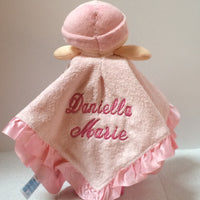 Thank Goodness for Lil Girls Baby Blankey Security Lovey - Personalized