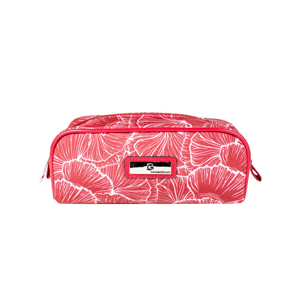 Scallop Rectangular Purse - Red