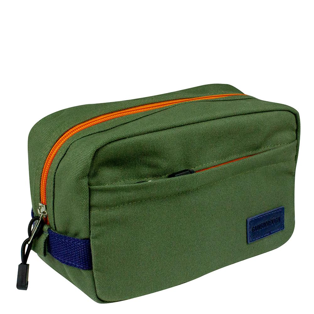 Khaki/Orange/Navy Holdall