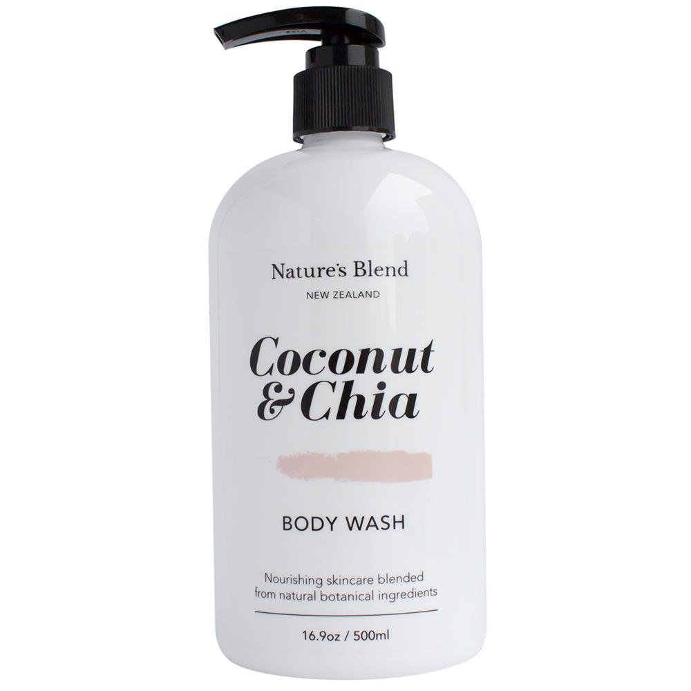 Natures Blend Body Wash Coconut & Chia - 500ml