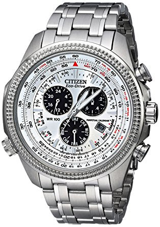 Citizen Men's BL5400-52A Eco-Drive Stainless Steel Sport Watch with L