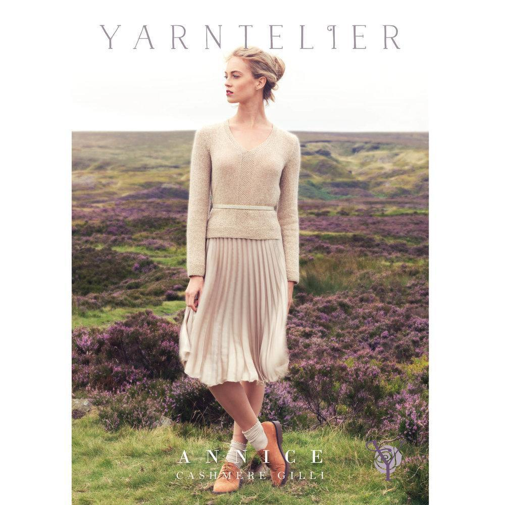Annice Sweater Pattern Yarntelier Knitting Pattern