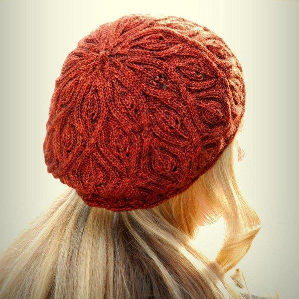 Autumn Vines Hat Pattern Never Not Knitting Pattern