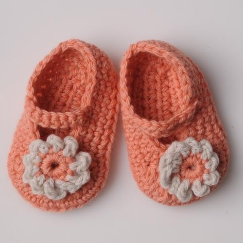Baby Booties CROCHET Pattern Mrs Moon Pattern