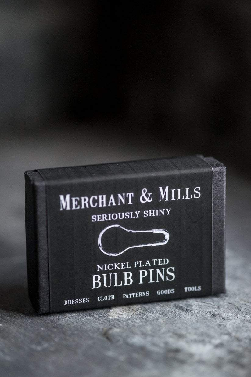 Bulb Pins - Nickel Plated Merchant & Mills Pins & Needles