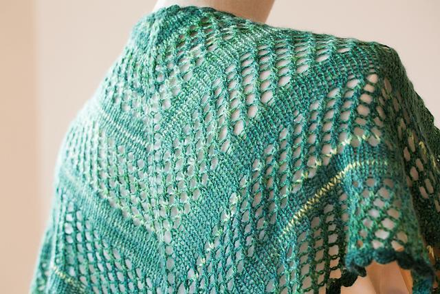 Kashimi Shawl Pattern Urth Yarns Pattern