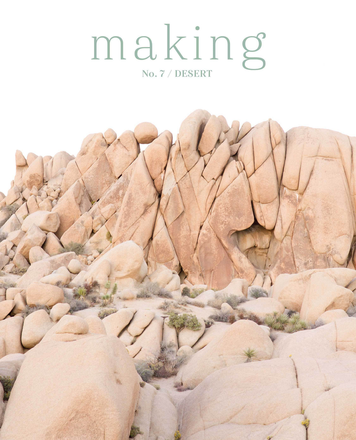 PRE-ORDER Making Magazine - No. 7 Desert Making Magazine Magazine