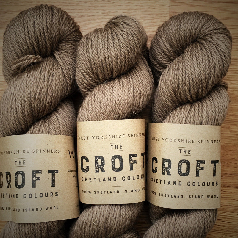 The Croft Shetland Colours West Yorkshire Spinners Yarn Belmont 554