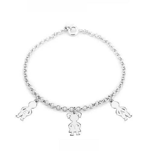 Sterling Silver Mother's Charms Bracelet 1 Charm