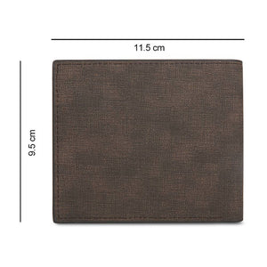 Full Color Photo Bifold Wallet - Coffee