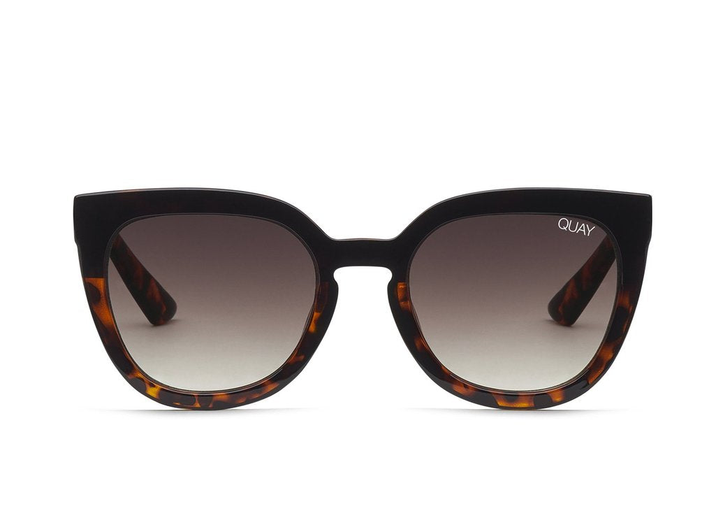 QUAY - Noosa Black Tort/Brown Fade