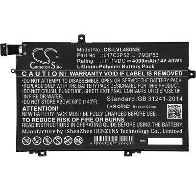 Lenovo 20LS0015UK 20LS0016MH 20LS001WAU Replacement Battery