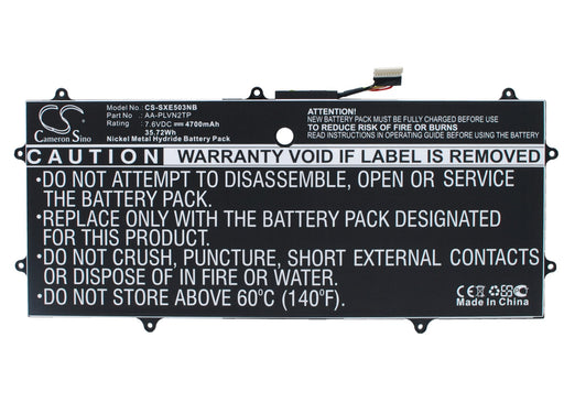 Samsung Chromebook 2 13.3 in XE503C32 XE503C32-K01US Replacement Battery