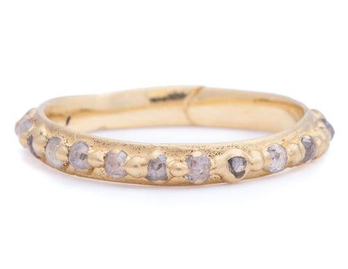 The Pinched Eternity Band Narrow 2 - PollyW