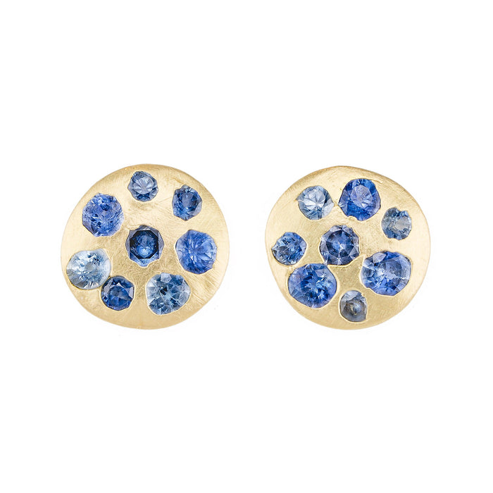 The Crystal Disc Studs 3 - PollyW