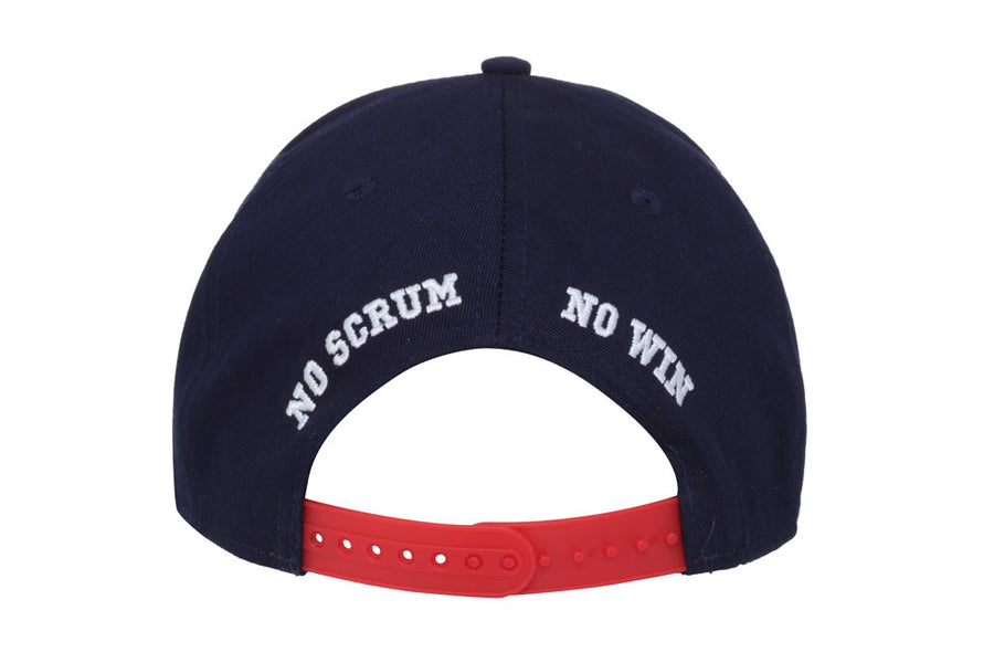 Rugby snapback hat by No Scrum No Win