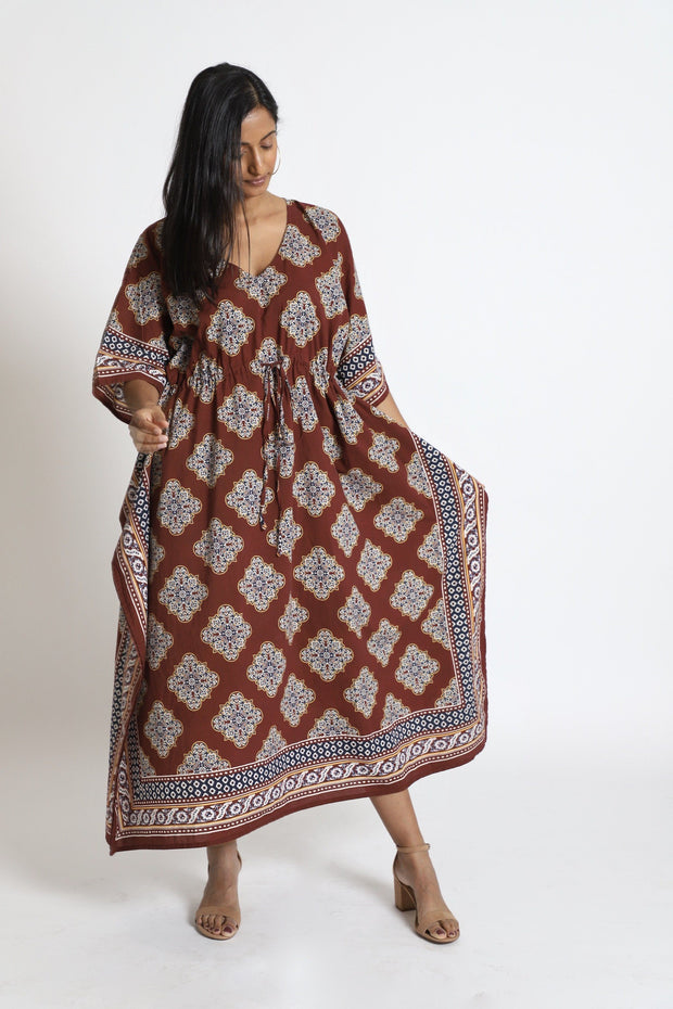 'Debut Dabu' Long Kaftan - Kaftan Life