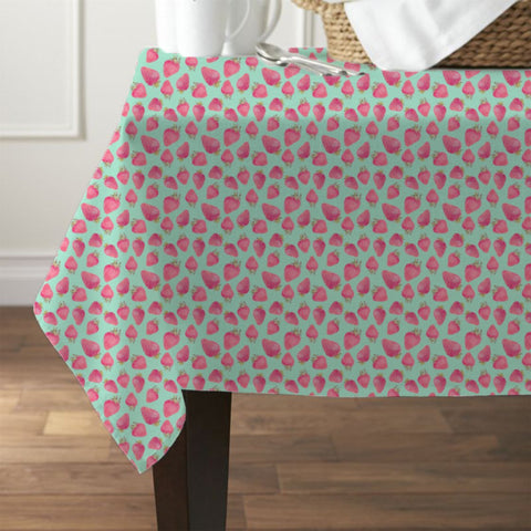 Strawberry Design Waterproof Table Cover - Haus and Sie