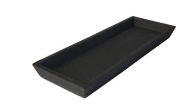 Zakkia Concrete Square Black