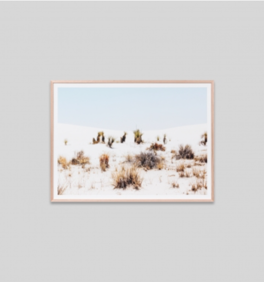 Middle of Nowhere - Sandhill Framed Print