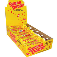 Sugar Daddy Caramel Pops - Small 48ct Display Box