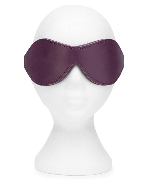 Fifty Shades Cherished Collection Leather Blindfold