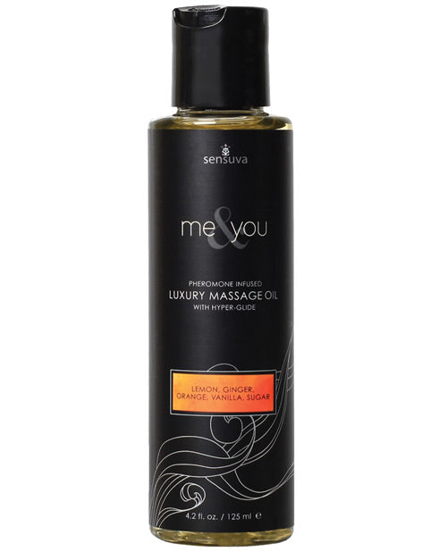 Sensuva Me & You Massage Oil - 4.2 Oz Sugar & Citrus
