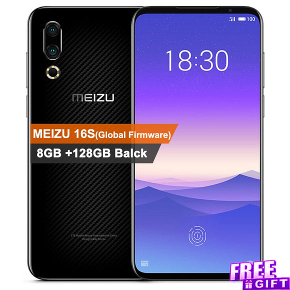 Global ROM Original Meizu 16s Mobile Phone 6.2