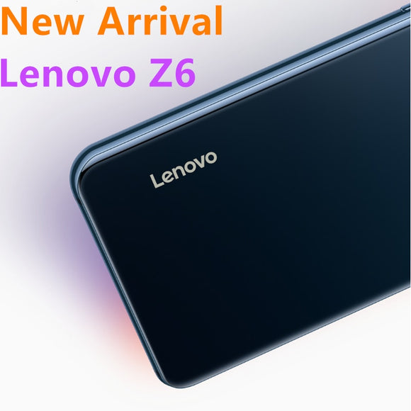 Global Rom Lenovo Z6 Cell Phone Snapdragon 730 4000 mAh Battery 4G LTE 6.39 Inch Screen FingerPrint Thriple Cameras Smart Phone
