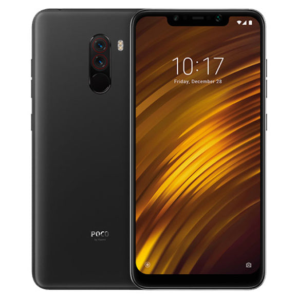 Global Version Xiaomi POCOPHONE F1 6GB 64GB POCO F1 Smartphone Snapdragon 845 AI Dual Camera  6.18
