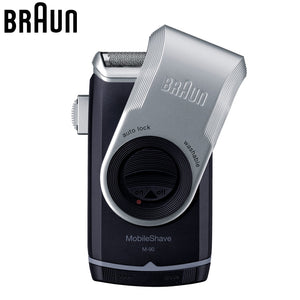 Braun M90 Electric Shavers Mobile shave trimmer Shaver Razor Washable Beard Shaving