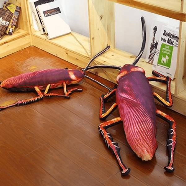 Cockroach Simulation Pillow - FlareTrends