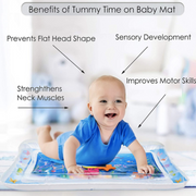 Inflatable Baby Water Mat - FlareTrends